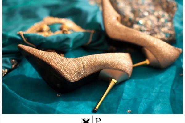 Ekta's Stunning Wedding Stilettos