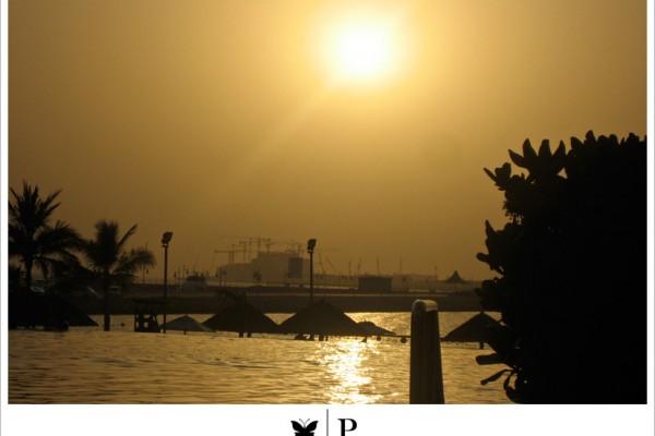 Swimming in HOT Water in Dubai