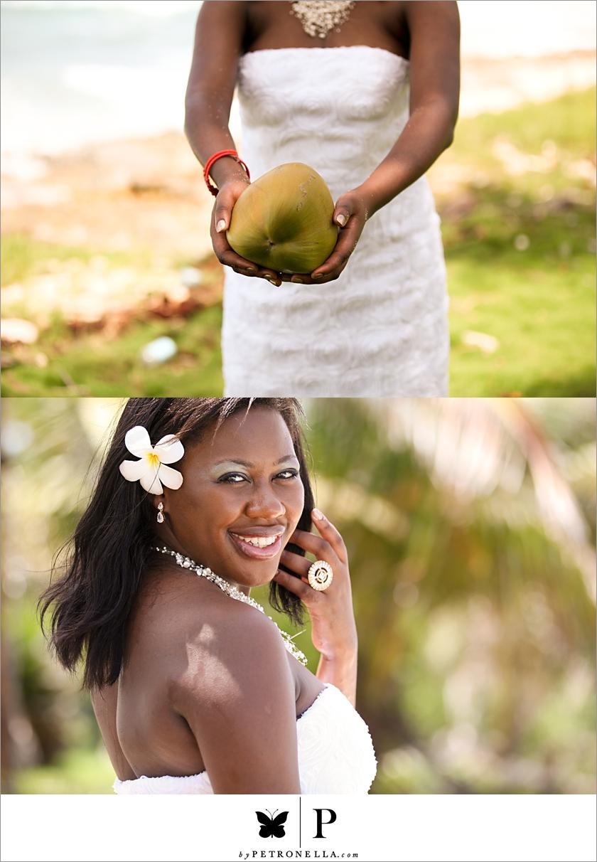 Interracial destination wedding