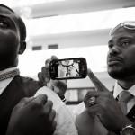 New York Ghanaian wedding photographer tie a bowtie (1)