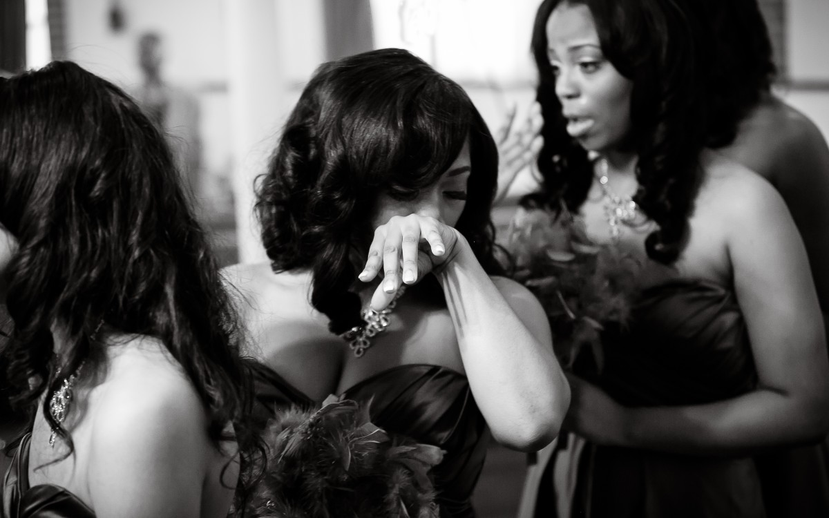 Beautiful is... that Moment When the Bridesmaids Tear Up