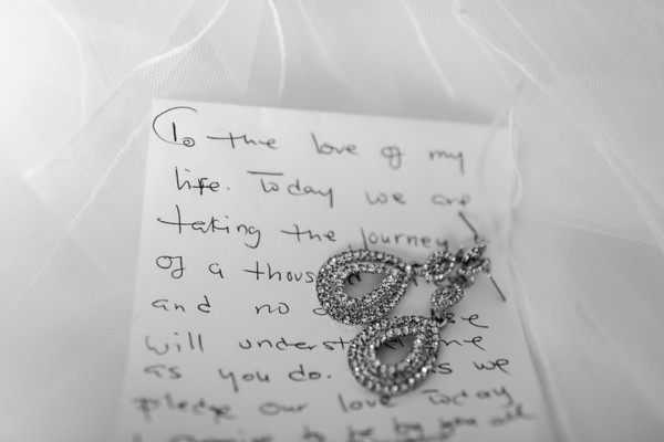 Beautiful is ... Love Note from Groom to Bride