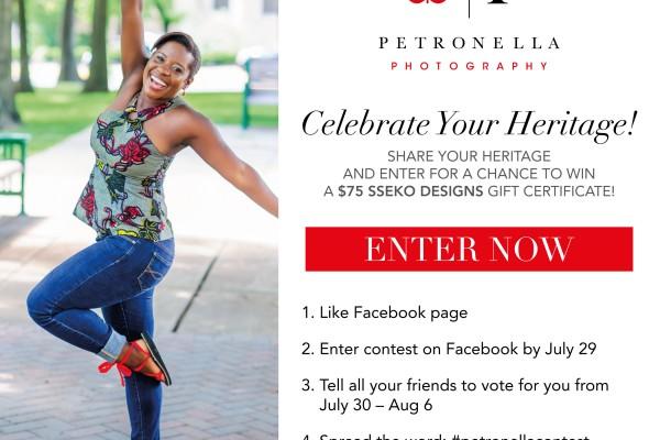 Celebrate Your Heritage Contest!