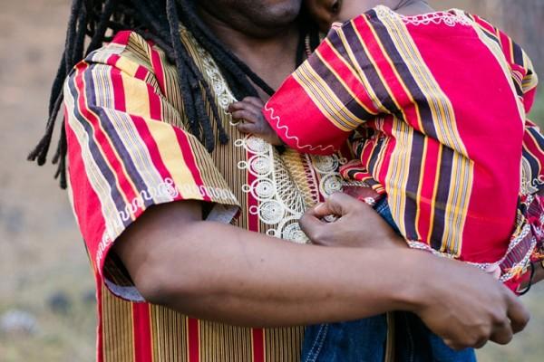 The Gentlemen Wore Ugandan Kikoyi Shirts