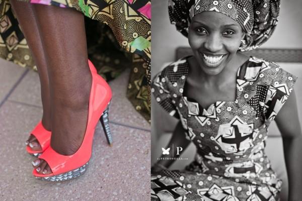 Dallas, TX | The Ugandan Beauty in an Ankara and Gele
