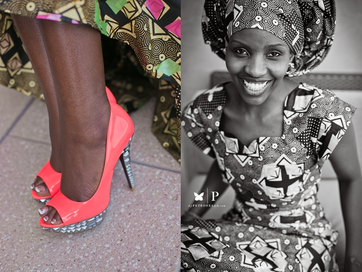 Ugandan lady in traditional ankara and gele UNAA convention (1)