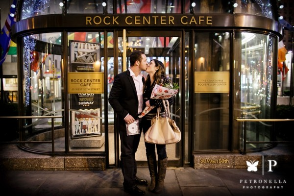 New York Rockefeller Center | Bryan + Kelsi Surprise Marriage Proposal