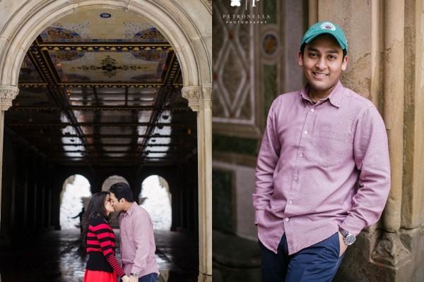 Central Park New York Marriage Proposal| Pramit + Saaski