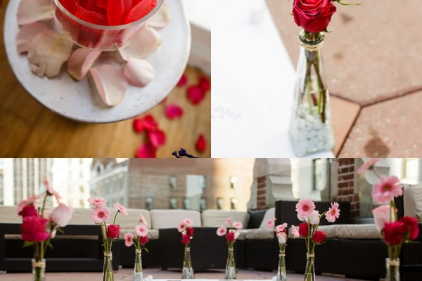Midtown New York | Surprise Penthouse Rooftop Marriage Proposal