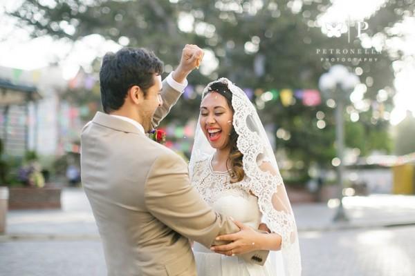 Los Angeles | Cascarones - Mexican Wedding Tradition