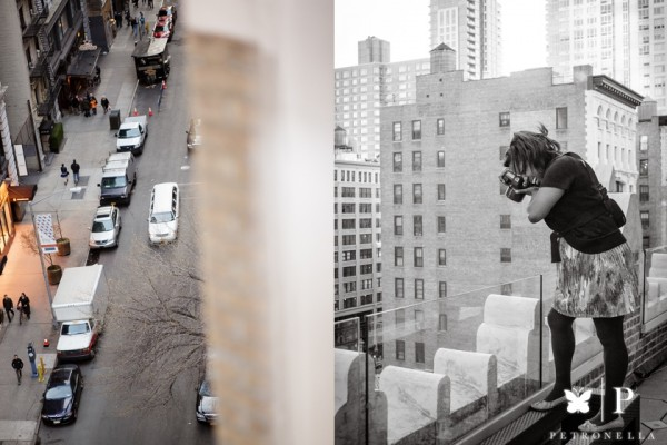 New York Midtown | Behind the Scenes of Rooftop Marriage Proposal