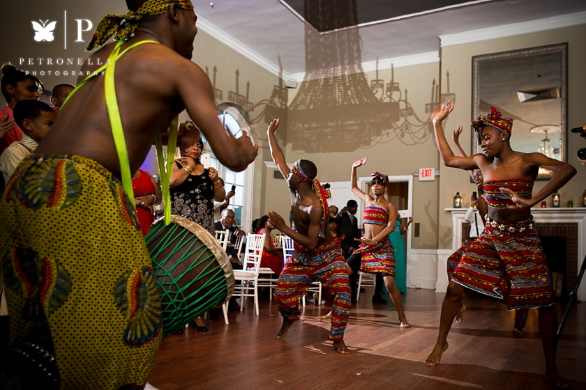 Highland Country Club Garrison New York Wedding African Dancers Petronella Photography