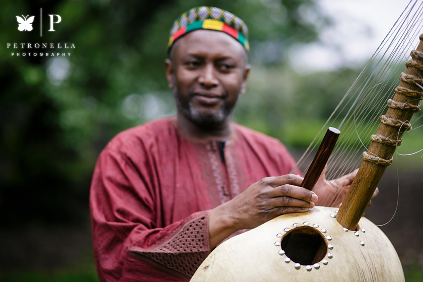 New York Muslim Malian Wedding | Kora Musician Salieu Suso