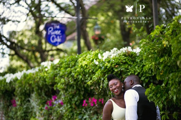 DUMBO River Cafe | Claudette + Jerry Ghanaian Engagement Session