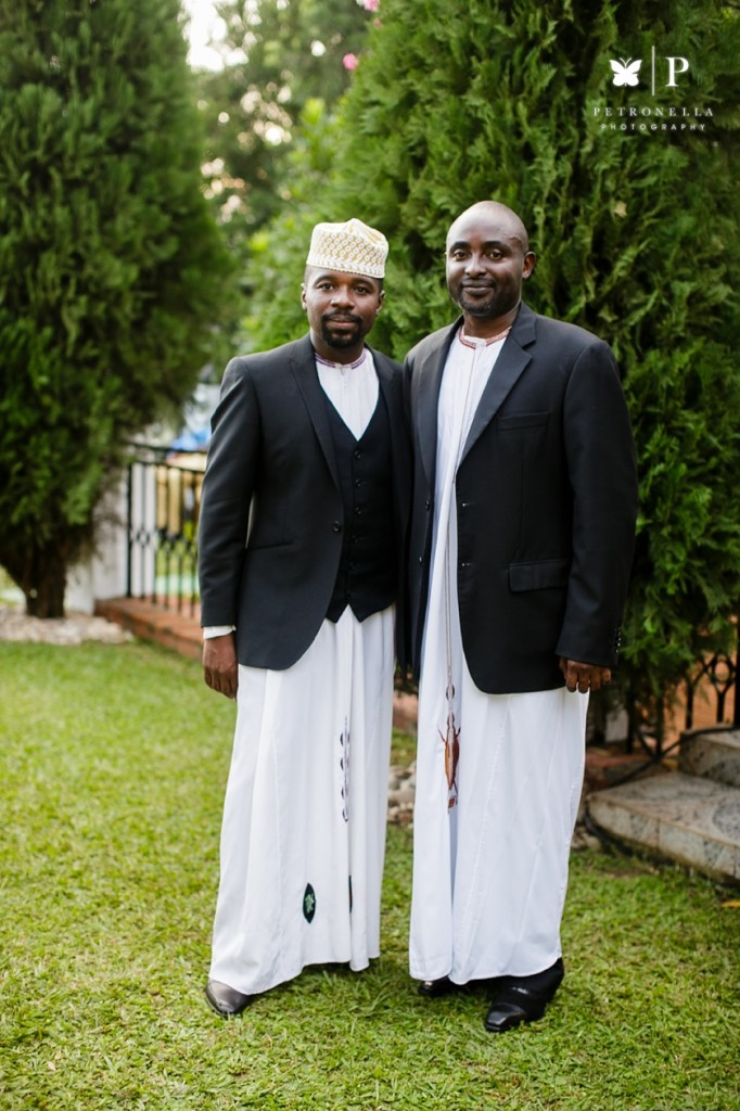 Kampala, Uganda | Kanzu Traditional Wedding Attire Petronella Photography