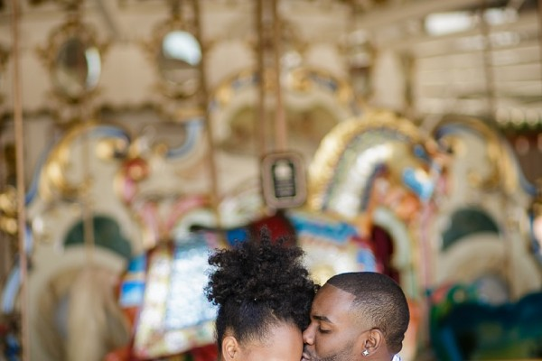 Behind the Scenes | Coney Island Engagement Session