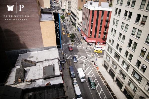 New York Rooftop   Australian Cupcake Marriage Proposal