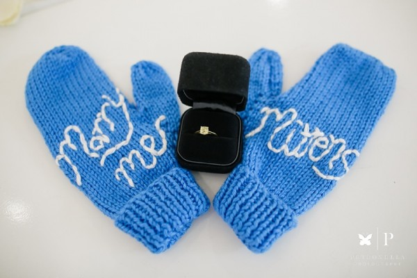 New York | Marry Me Mittens in a Tiffany Blue Box