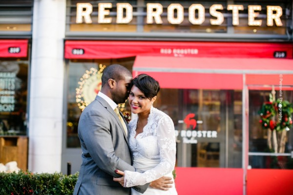 An Intimate Multicultural Wedding at Red Rooster Harlem