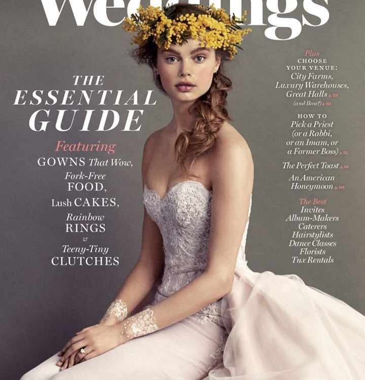 Published in the Summer 2015 New York Magazine Weddings