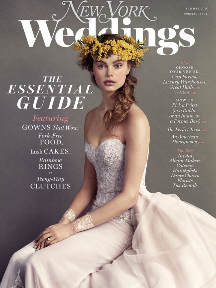 Summer 2015 New York Magazine Weddings Cover