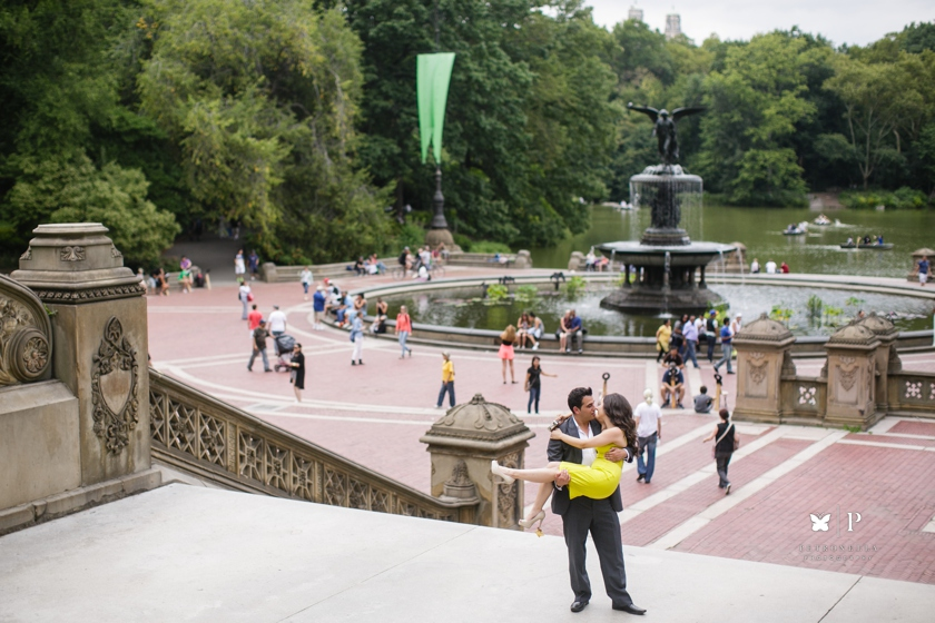Lebanese multicultural proposal with Verragio ring in Central Park New York (6)