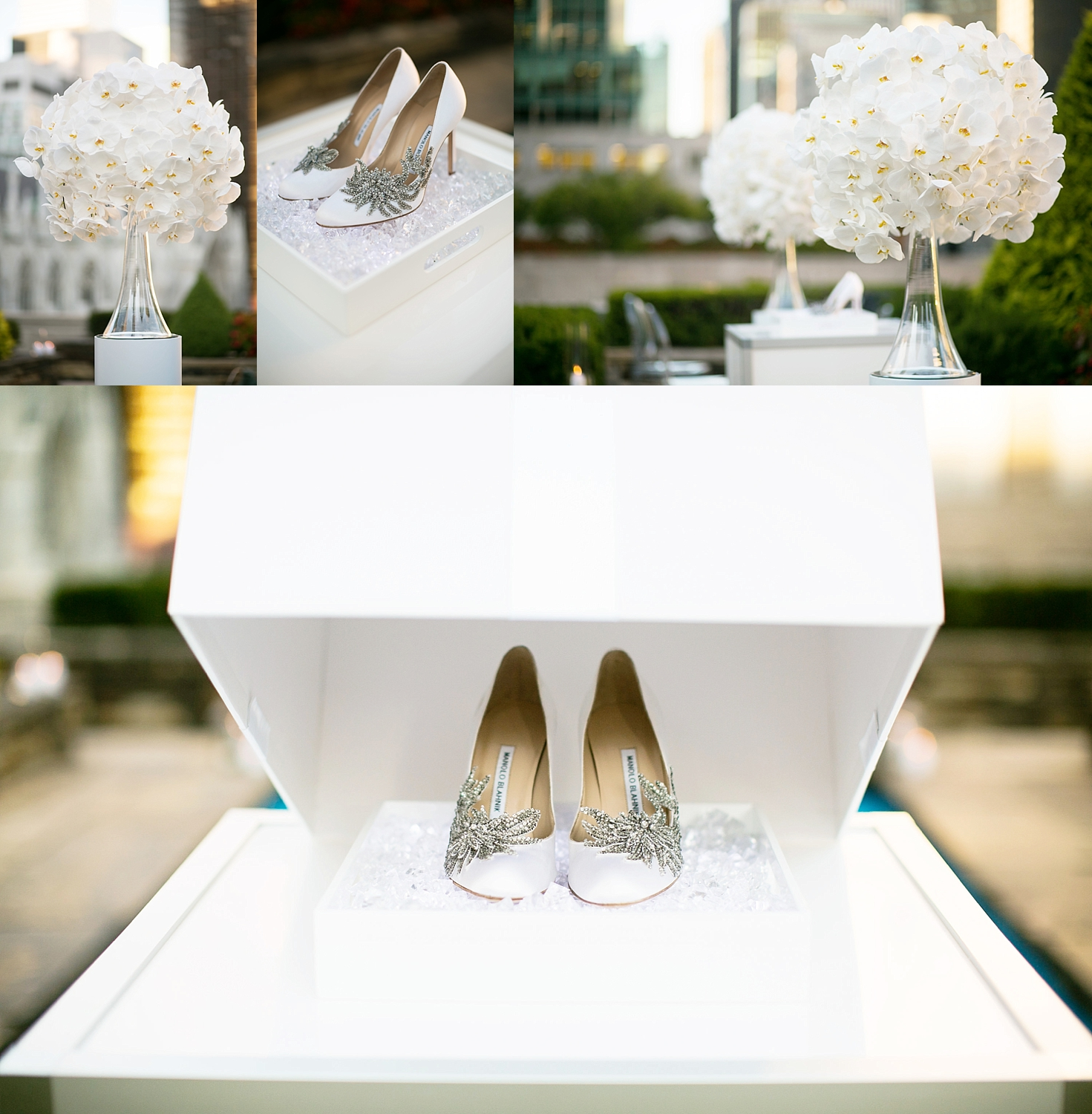 620 Loft and Garden New York luxury floral design & Manolo Blahnik shoes The Heart Bandits