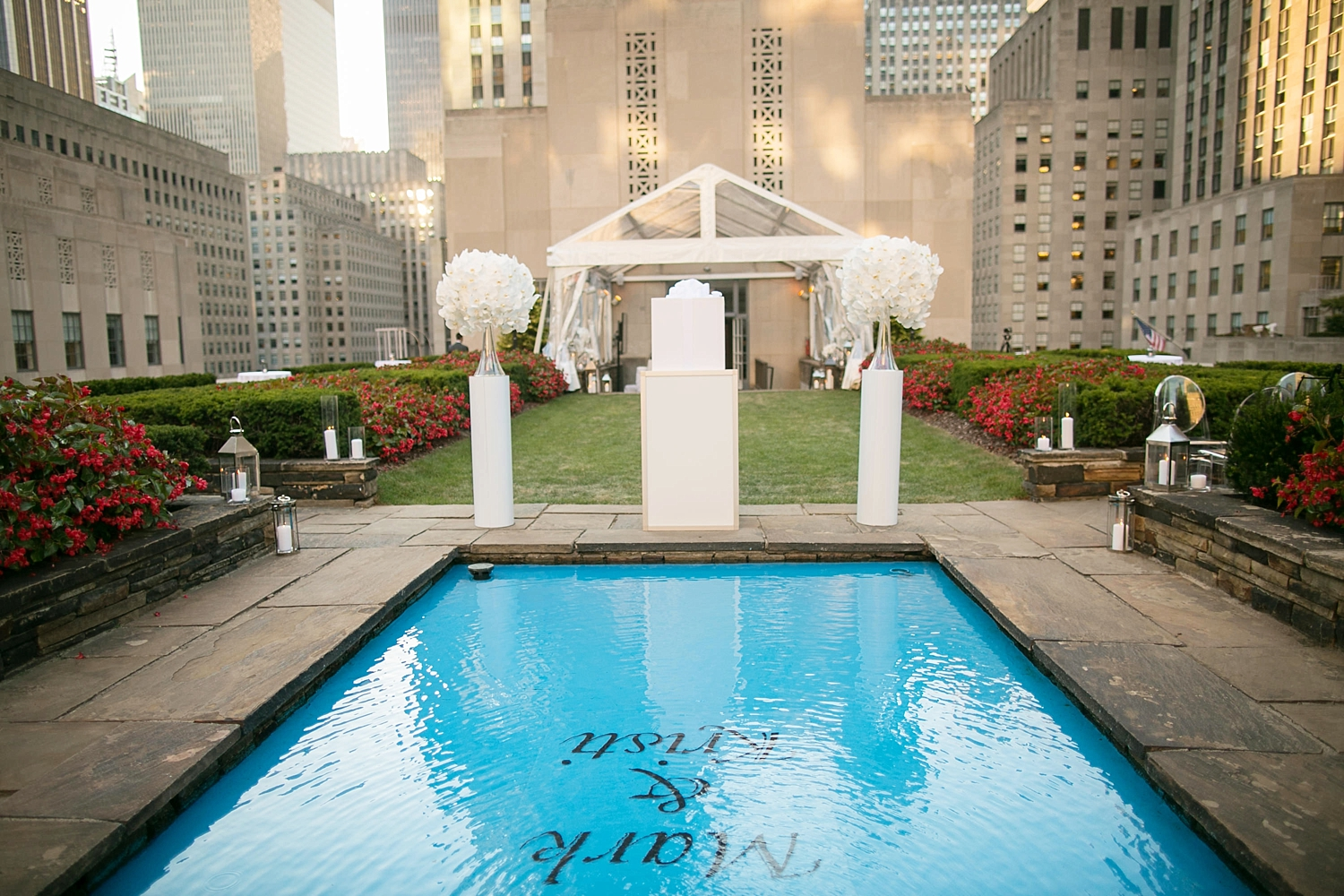 620 Loft and Garden luxury name in water New York proposal The Heart Bandits