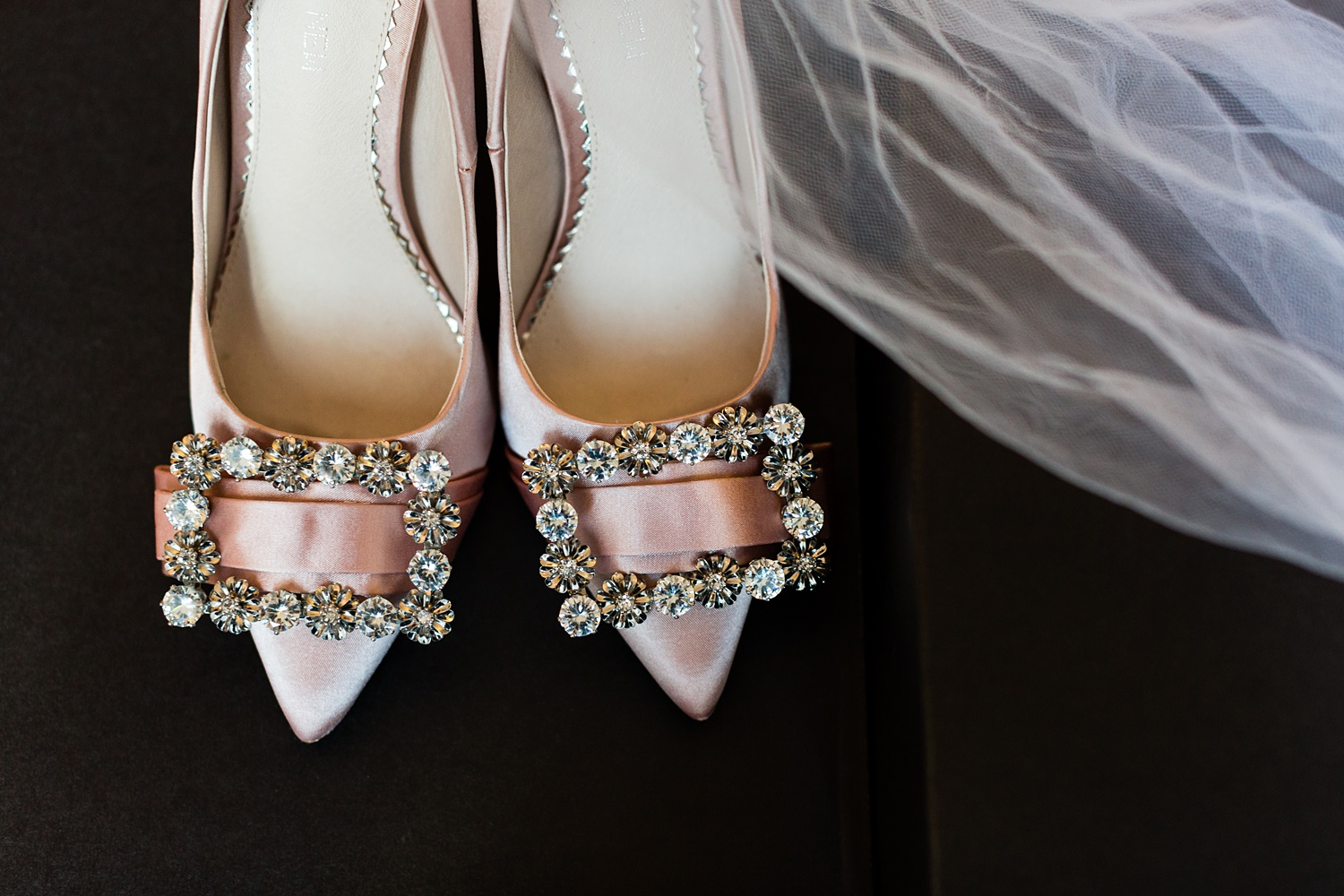 Newly Engaged Advice Andaz hotel pink wedding shoes