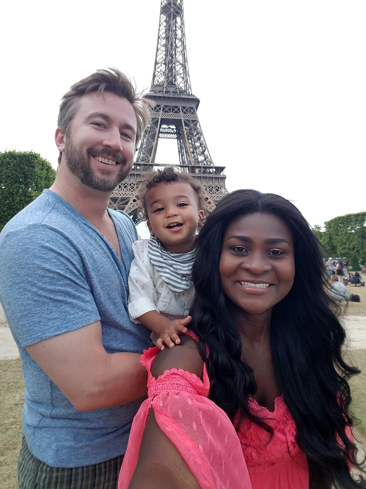 Jackie Murphy Ghanaian interracial family biracial son