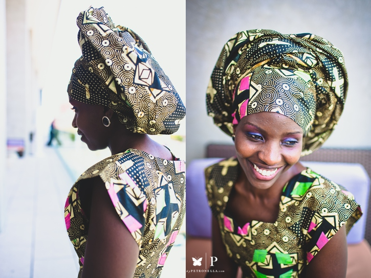 Ugandan lady in traditional ankara and gele UNAA convention (3)