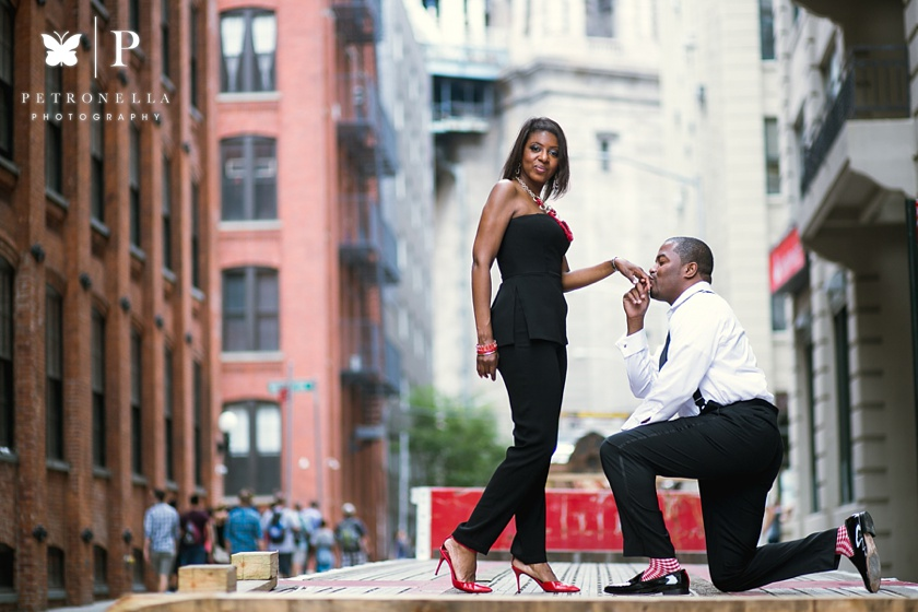 DUMBO Brooklyn engagement session Aisha Rasheem Petronella Photography (1 of 1)