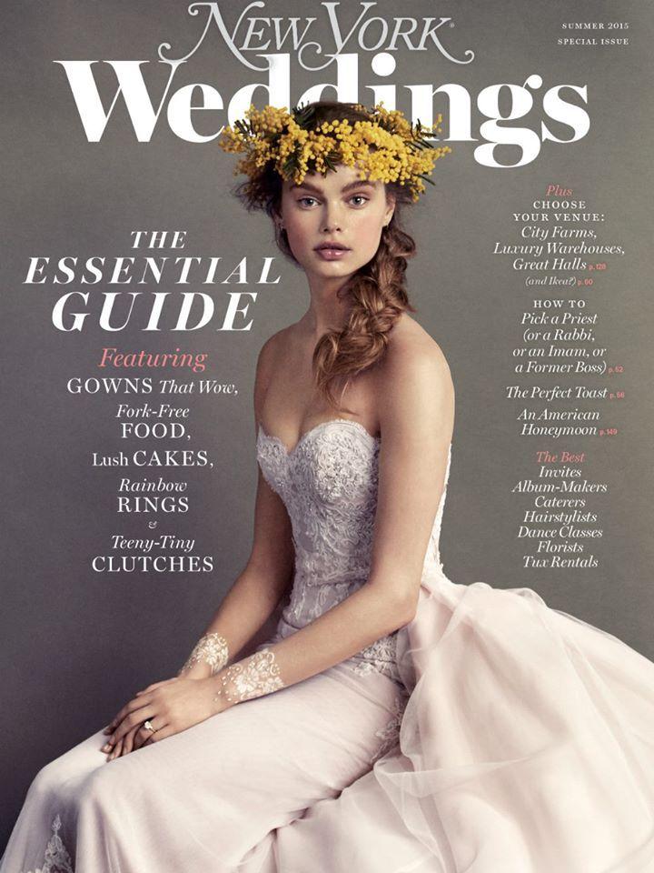 Summer 2015 New York Magazine Weddings Cover