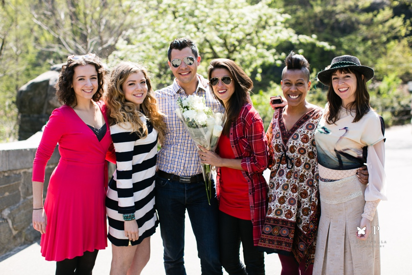 How Ali Proposed with an Acapella Unchained Melody Serenade - Central Park marriage proposal (5)