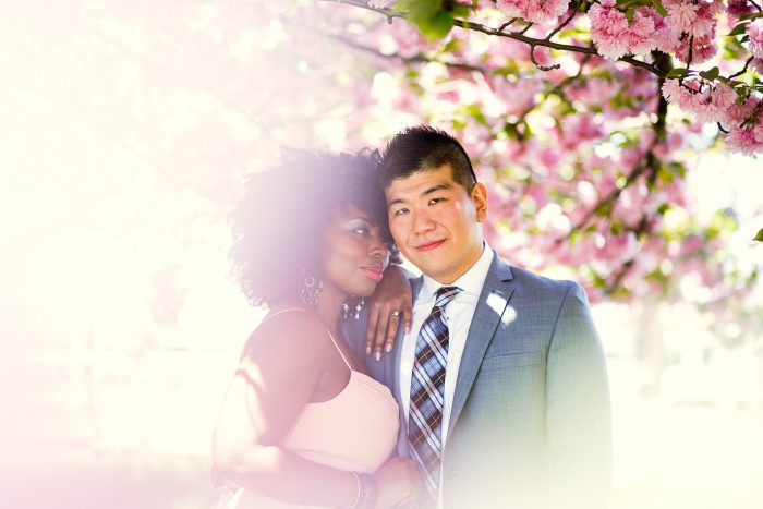 New York multicultural interracial wedding marriage proposal photographer Petronella Photography
