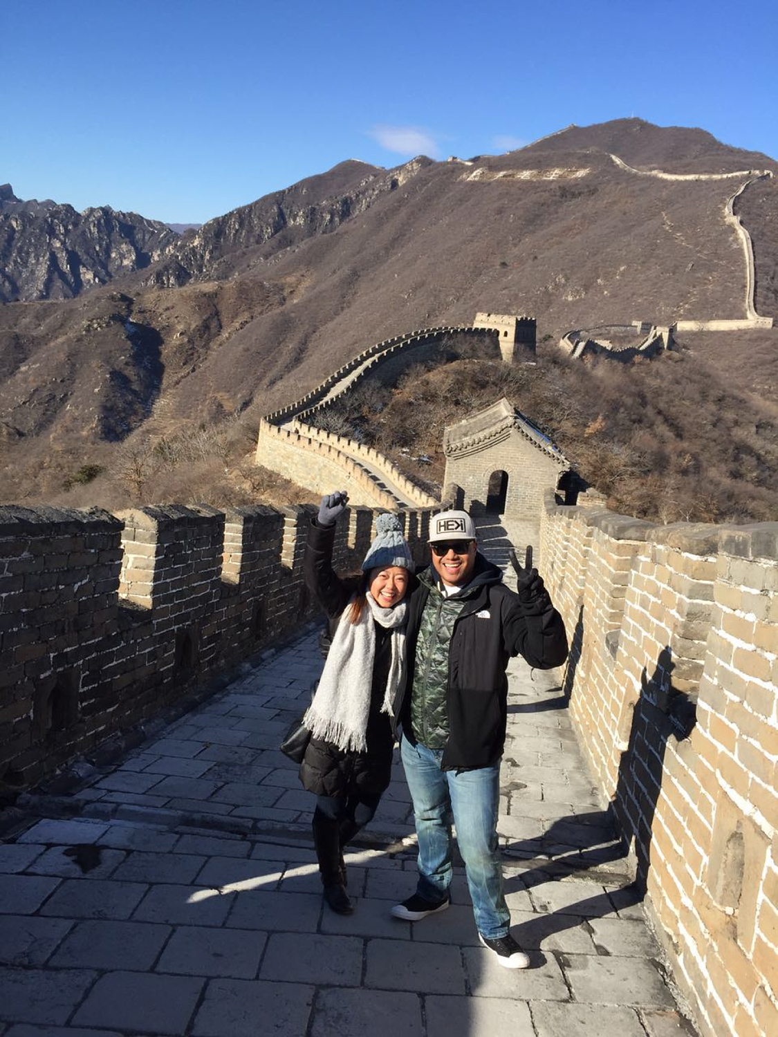 Chinese Filipino couple traveling together in Asia I Am Multicultural Podcast