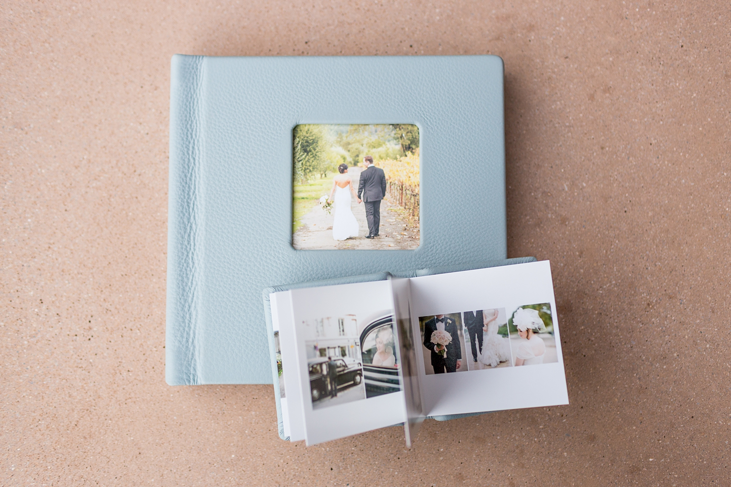 Wedding albums from Petronella Photography