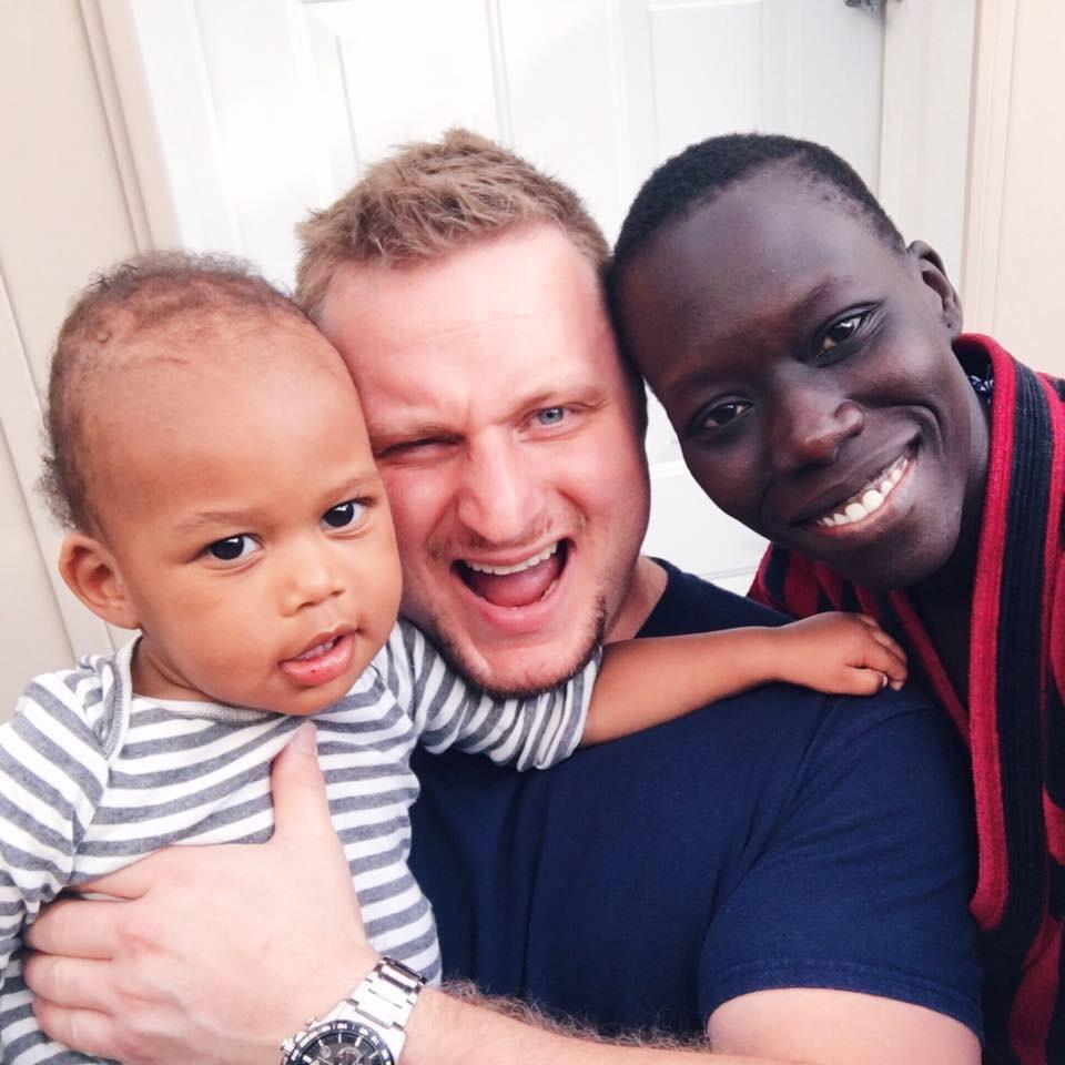 Lily Yange interracial Sudanese German family