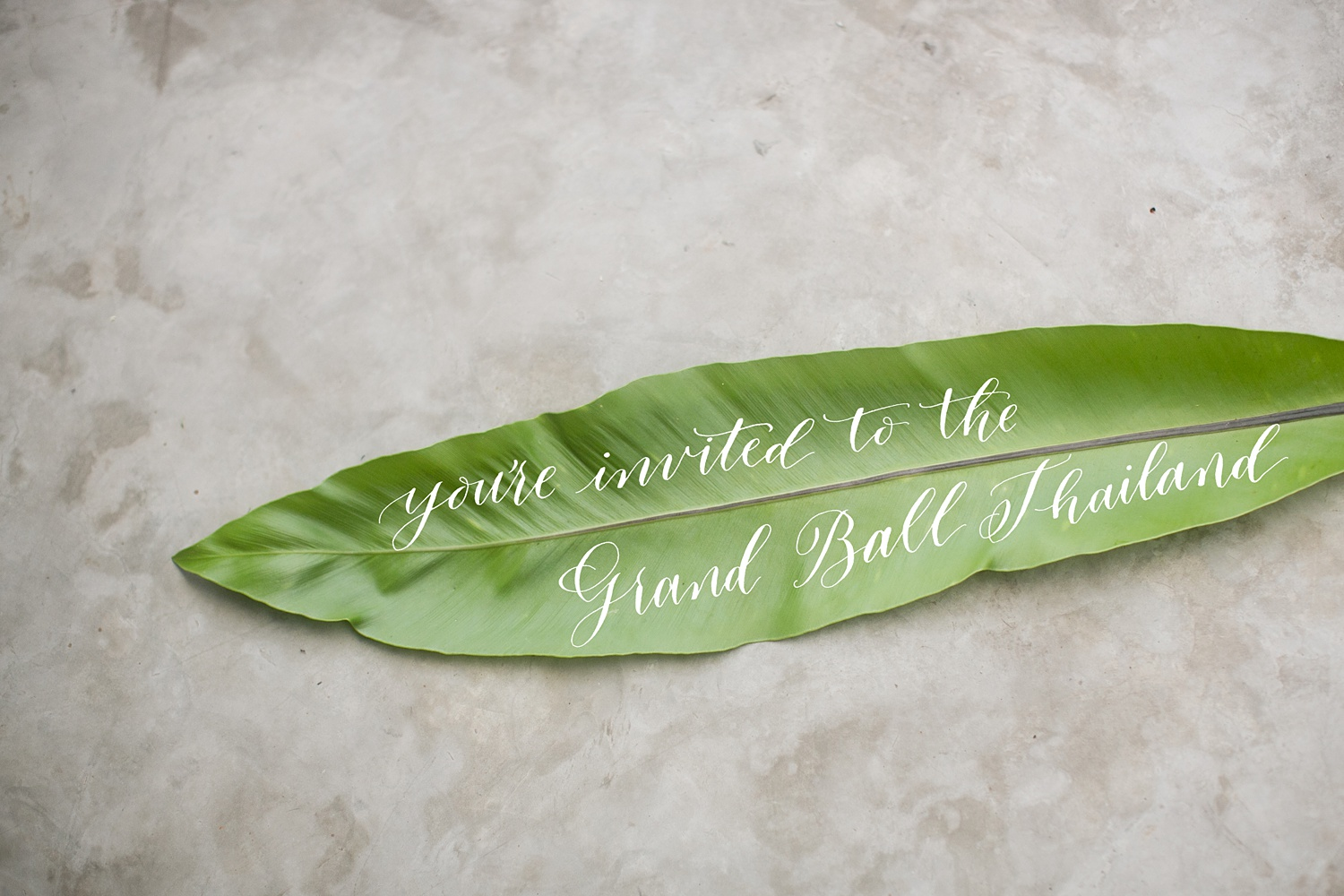 Newly Engaged Advice calligraphy invite