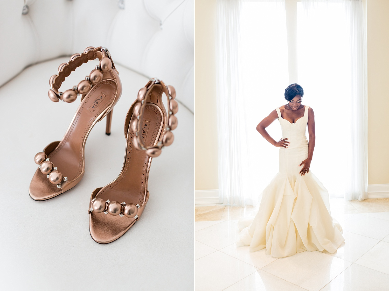 Newly Engaged Advice Nigerian multicultural luxury bride at Bellevue Conference Center