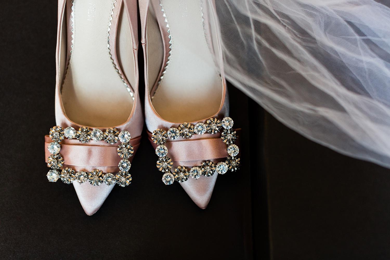 Newly Engaged Advice Andaz hotel pink wedding shoes