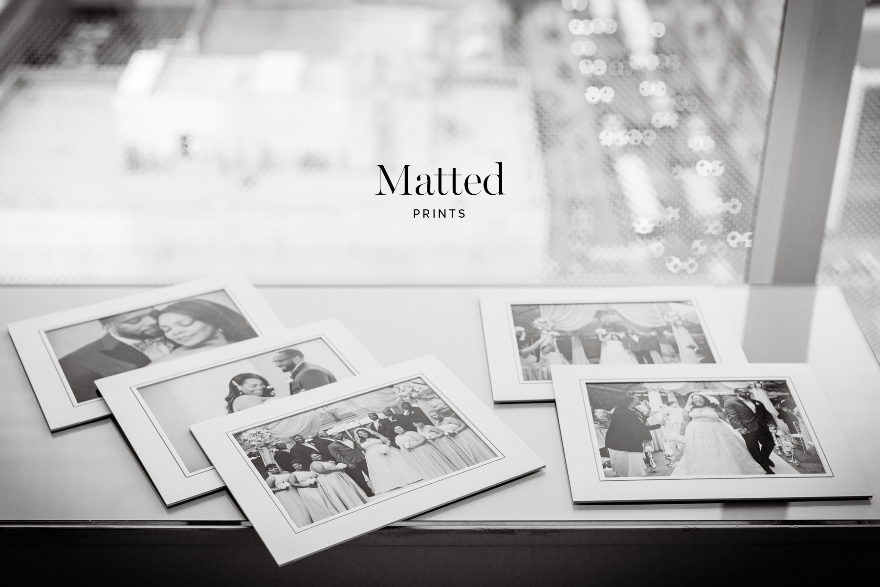 Matted prints from Petronella Photography
